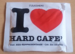 I love hard cafe - front